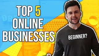 Online Business Ideas – Top 5 for Beginners (2019) Blog Image